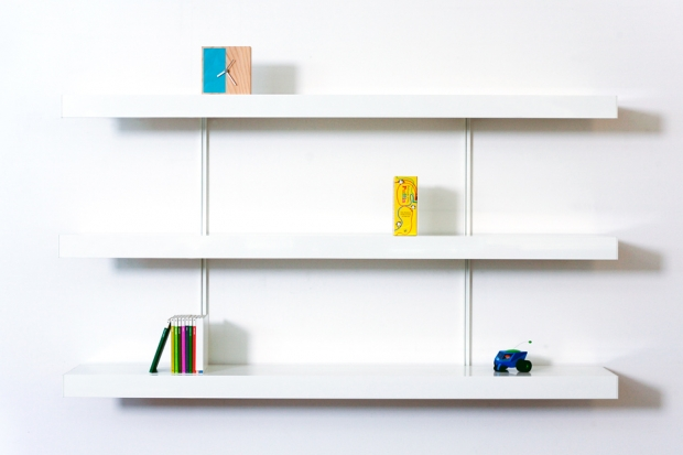 ON&ON shelves in white on and on shelving,
