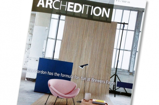 Archedition, ON&ON, shelving, new showroom, forbo, clerkenwell, design, display shelving, retails shelving