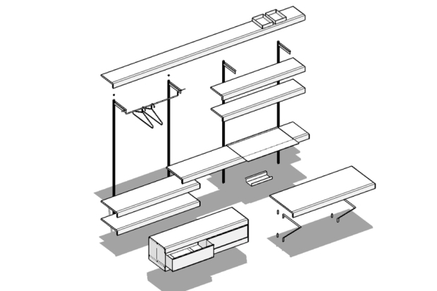 ON&ON shelving system