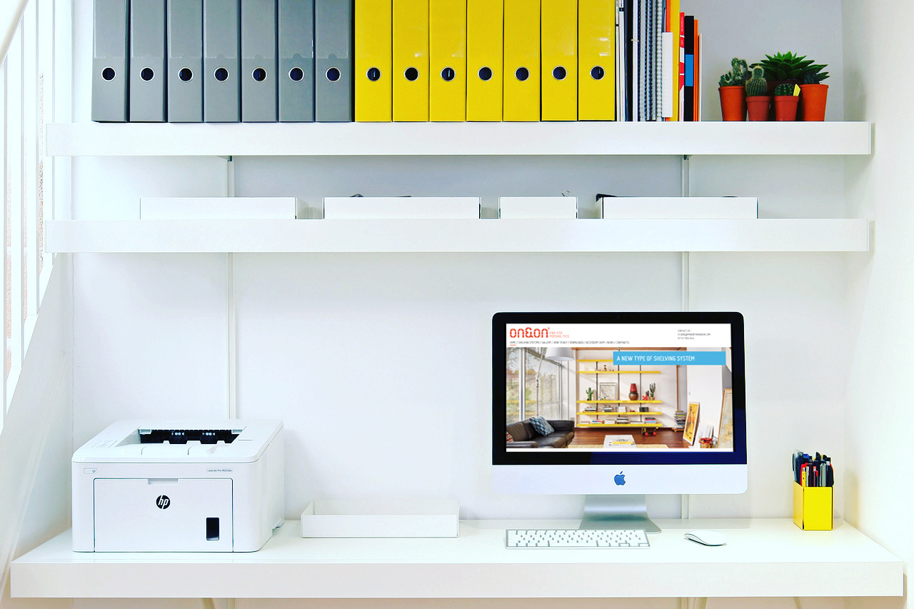 ONON home office shelving system