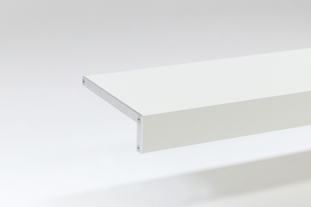 long contemporary wall shelves
