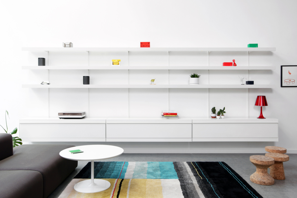 office wall shelving system by ON&ON